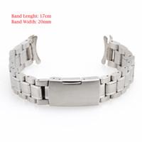 металлические наручные часы 24мм оптовых-A072 20mm 22mm 24mm New Wristwatch Part Stainless Steel Band Metal Bracelet Watch Strap Men's watch Band Accessories Watchbands
