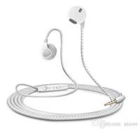 ingrosso controllo del volume delle cuffie senza vivavoce-Auricolare vivavoce auricolare in-ear universale colorato con microfono e controllo volume Cuffie per iPhone Samsung Retail Package Aicoo