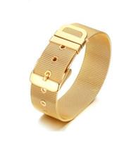 ingrosso orologi di grande fascia-Ordine misto Braccialetto in acciaio inossidabile da uomo, braccialetti grandi, accessori moda, gioielli per il corpo, cinturino in pelle, cinturino in vita 264
