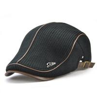 Wholesale vintage golf hats for sale - Creative Vintage England System  Medium And Old Men Cap a9807535849