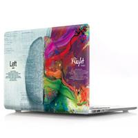 macbook 12 großhandel-MacBook Air 13 Zoll Fall, kreative Gehirn Kunststoff Schutzhülle für Macbook 12