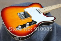 Wholesale electric guitars tele sunburst - Best Price HOT tele guitar High Quality VOS Tele Electric Guitar Ameican Sandard Telecaster electric Guitar in stock