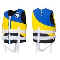 ingrosso pesca d'aria-Giubbotto adulto Giubbotto di salvataggio Professione Maglia regolabile per il nuoto Pesca Surf Kayak Air Jackets Adulto Childre Bcd Swim 72hs dd