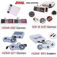 mini tvs venda venda por atacado-Chegada HOT Mini TV 500 600 620 621 821 Consola de Jogos de Vídeo Handheld para jogos NES consoles com caixas de varejo venda quente brinquedos
