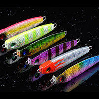 6pcs Iron Bait Seawater Fishing Lures Metal Hard Baits Lead Fish Tackle 9cm 55g