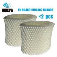 4 Pcs Luftbefeuchter Zubehör Filter Bakterien Und Skala Für Philips Hu4802 Hu4803 Luftbefeuchter Teile Klimaanlage Geräteteile