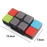 Wholesale music cube toy - Magic Cube Electronics With Light Music Puzzle Flip Foldable Led Cubes Multiplayer Brain Training Decompression Toys Free Shipping 38dq Z