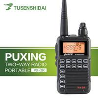 meilleur prix radio achat en gros de-Meilleur prix PUXING PX 2R UHF 400-470 Mhz 2 voies radio portable minuscule talkie-walkie