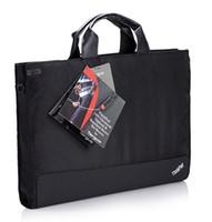 Wholesale 14 inch laptops lenovo online - Laptop Bag Original Lenovo ThinkPad X1 Carbon inch Shockproof Sleeve Notebook Case Handbag Man Woman Shoulder Messenger Bags