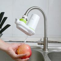 Wholesale faucet mount filter - Qwater Ceramic Filter Tap Water Purifier Water Purifier Hight Quality Kitchen Faucets Filter Tap Water Purifier