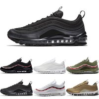 Wholesale discount running shoes for sale - Best Quality OG Tripel White Metallic Gold Silver Bullet Discount WHITE M Premium Fashion Men Women Running Shoes Sport Sneakers