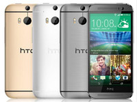 Wholesale Original HTC One M8 Unlocked GSM WCDMA LTE Quad core RAM GB Cell Phone HTC M8 Inch Cameras refurbished Phone