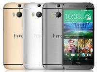 kamera gsm großhandel-Ursprüngliches HTC One M8 entriegelt GSM / WCDMA / LTE Quad-Core-RAM 2 GB Handy HTC M8 5,0-Zoll-3-Kameras refurbished Phone