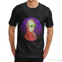 современные футболки оптовых-2018 новая мода Марка Clothing Design Tee Shirt мужская современная Neon Mort смешные печати футболка лето повседневная одежда