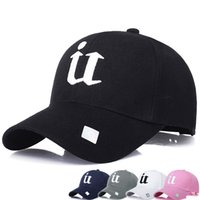 Wholesale 3d Hat Letters - Fashion letter U 3D embroidery baseball caps Solid summer suncreen hats for men women Trucker lovers bridesmaid Hip Hop hiking