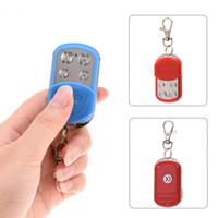 Wholesale garage door remote control copy for sale - Group buy GV807 Portable Channel RF Remote Control MHz Duplicator Car Alarm for Gate Door Garage Fast Copy Remote Control