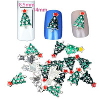 украсить гвоздь оптовых-Nail Tools Nail 10PC Christmas Decorate Beautiful Polish Sequins Painting Fashionable Sticker Drop shipping Set28