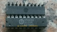 electronic components line Australia - Free shipping UM6650 ,20 dual-in-line needle DIPelectronic components, integrated circuit chips ,IC,,Electronic components