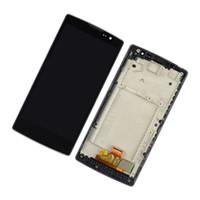 ingrosso cellulare del pannello a sfioramento-Originale per LG Spirit H440 H440n H442 Schermo a schermo intero originale da 4.7 pollici Cellphone Touch Panel Digitizer Display LCD con telaio
