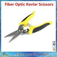 Wholesale Optic Cord - Free Shipping High Quality Fiber Optic Kevlar Scissors Jumper Wire Patch Cord Pigtail Aramid Cutter FTTH Tools