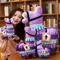 Wholesale kids soft toys online - Fortnite Troll Stash Llama Figure Doll Soft Stuffed Animal Toys Fortnite Stash Llama Plush Toy cartoon Stuffed doll cm cm plush toy