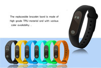 Wholesale oled watch display for sale - Group buy Hot M2 XIAOMI Fitness tracker Watch Band Heart Rate Monitor Waterproof Activity Tracker Smart Bracelet Pedometer Call remind OLED Display