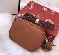 Wholesale soho disco bag black for sale - Group buy Classic Women Soho Bag Disco Shoulder Bag High Quality Camera Crossobody Bags Luxury leather designer purse Tassel bag