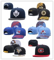 Wholesale Embroidered Baseball Caps Cheap - Newest Arrival Cheap Wholesales Toronto Maple Leafs Baseball Snapbacks Baseball Embroidered Team logo Sport Hats Adjustable Cap