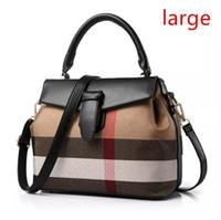 tek omuz askısı toptan satış-Tatlı ve şık ekose çanta omuz çantası Messenger Tek Askıları Moda Çanta Yeni Kore kadın kalıplaşmış