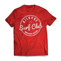 сейчас платья оптовых-Новый мужской весна лето Dress с коротким рукавом повседневная Kilgore Surfer Club Apocalypse Now T рубашка