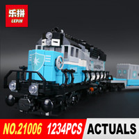 Wholesale truck toy model - New LEPIN 21006 1234Pcs truck Model Building Kits Blocks Bricks for child birthday Toys 10219