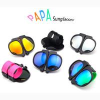 serin eşsiz yüzükler toptan satış-PAPA Katlanabilir Güneş Gözlüğü Kadın Erkek Çocuk Serin Alkış Halka Güneş Gözlüğü Benzersiz Taşınabilir Bilek Güneş Gözlükleri Açık Plaj Güneş Gözlüğü Renkli