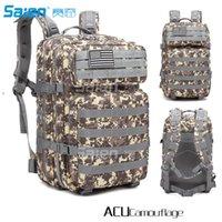 molle assault backpack venda por atacado-Tactical Backpack Grande 3 Dia Assault Pack Exército Molle Bug Fora Saco Mochilas