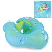 bebê nadando anel nadar tubo venda por atacado-Bebê Flutuador Anel de Natação Crianças Inflável Swim Tubo Trainer Piscina Água Brinquedo Divertido Anel de Natação Do Bebê
