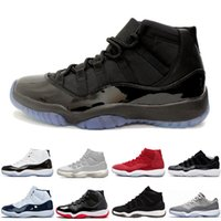 026ce51039f 2018 free 11s XI Space James 45 Midnight Navy Men Basketball Shoes Gym Red  Bred Cool Grey mens running designer sneakers