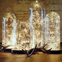 ingrosso decorazione di nozze-LED lights decor Decorazione di nozze LED grow light Corker String Fairy Lights per Glass Craft Bottle Strips Per Natale Decorat Halloween