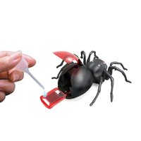 Wholesale power gift plastics resale online - Salt Water Giant Arachinoid Children Kid Toy DIY Gift Intelligence Science Learning Education Brine Power Spider lq V