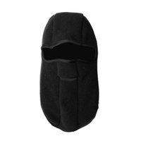Wholesale bicycle hats resale online - Balaclava Neck Winter Hats Warm Polyester CS Hat Hood Outdoor Activities Sking Bicycle Windproof Full Face Mask Hat Cap