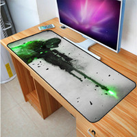 Wholesale pattern mouse - Large Size 400X900MM Gaming Mouse Pad Laptop Keyboard Pad High Quality CSGO Gun Pattern Rubber Pad