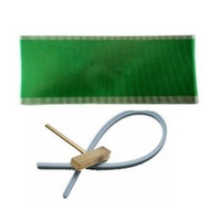Wholesale replacement lcd ribbon resale online - Flat LCD Connector Flex Info Display For Opel GM Dead Pixel Replacement Ribbon Cable Soldering T tip rubber cable