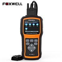 escáner de código srs al por mayor-FOXWELL NT630 Elite OBD2 ABS para automóvil Escáner SRS Obd2 Lector de código de coche Motor Airbag SAS Fecha de colisión Herramienta de escaneo de diagnóstico automático