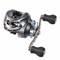 Wholesale Fish Cast - 17 +1bb Baitcasting Fishing Reel 7 .0 :1 Bait Casting Reels Left  Right Hand Reel With One Way Clutch Fish Pesca Reel Max Drag 5kg