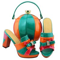 Wholesale designs bags shoes for sale - Latest Design African Matching Shoes and Bags Italian In Women Shoes with Matching Bags High Quality Shoes and Bag Sets