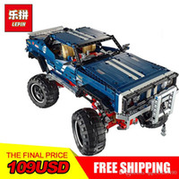 Wholesale block toys vehicles online - LEPIN Technology series Super classic limited edition of off road vehicles Model Building blocks Bricks Compatible Toy