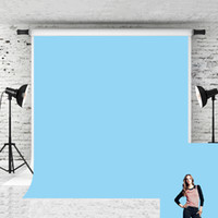 Wholesale baby portrait photography for sale - Dream x7ft baby Blue Photography backdrop Solid Pure Portrait Photo Booth Background for Photograher Studio Prop