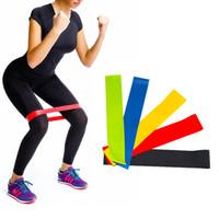 полосы сопротивления для йоги оптовых-Эластичная резинка для резины для резины Резина для фитнеса для тренировки в тренировочном упражнении