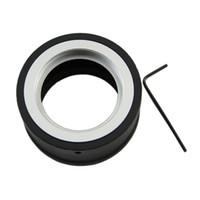 e mount achat en gros de-Adaptateur convertisseur visière vis SIV M42 pour SONY NEX E monture NEX-5 NEX-3 NEX-VG10 - L060 New hot