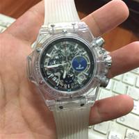 Wholesale mens white silicone watches - 2018 Top Men Brand Sport Watch Fashion Mens watches Quartz Military Watch chronograph Man Clock Dress wristwatch luxury montre homme