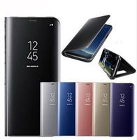откидной покров сна оптовых-Ультра тонкий роскошный гибридный смарт-кожаный флип чехол для сна гальванизирует мобильный протектор с прозрачной крышкой для iphone X XR XS PLUS