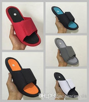 Wholesale Womens Size 13 Heels - 2018 Summer 6 Hydro Slide Sandals Slippers VI Series Men Womens Youth Sports Slippers Outdoor Fashion 6s Casual Indoor Slippers Size 5-13